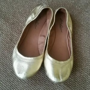 Lucky brand Emmie   flats in gold
